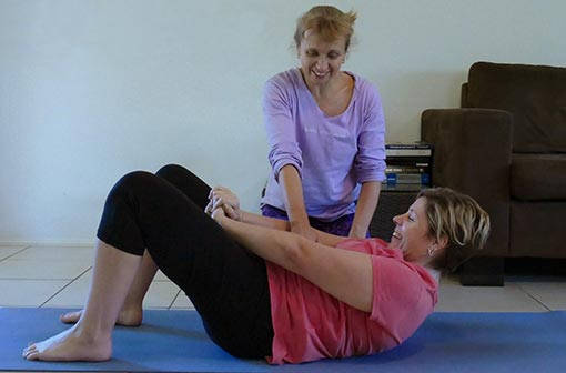 Yoga therapy with Tracy Gray