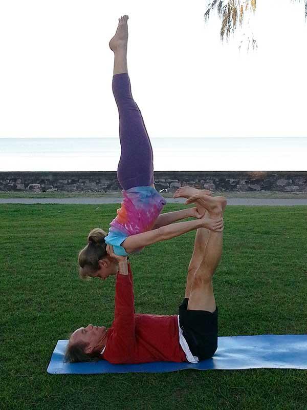 Tracy Gray Acro Yoga